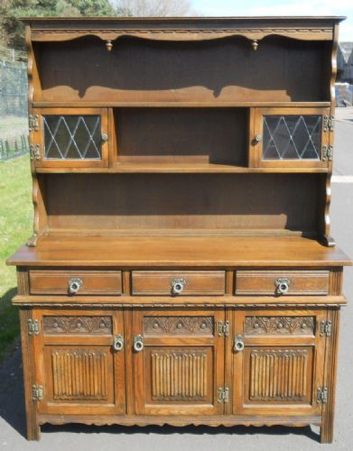 Medium Size Oak Dresser by Old Charm